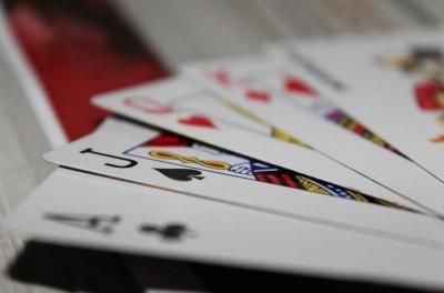 Playing Poker at Harrah's Cherokee Resort
