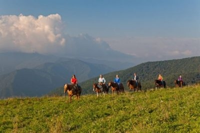 Cataloochee Ranch Horseback Rides
