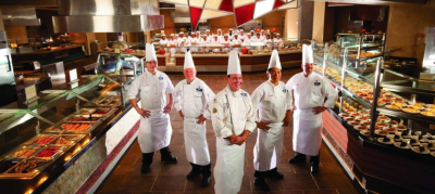 Chef's Stage Buffet at Harrah's Cherokee Casino