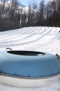 Cataloochee Snow Tubing