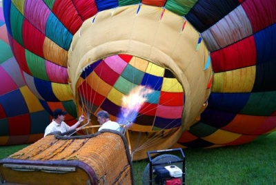 My First Hot Air Balloon Ride in Asheville, NC