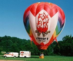Fox Fire Resort Hot Air Balloon Rides