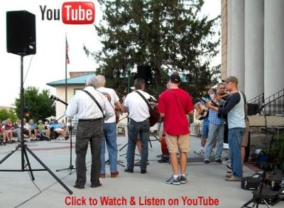 1st Fridays Blue Grass Jam in Hendersonville, NC