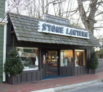Stone Lantern Home Decor