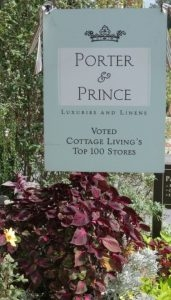 Porter and Prince Linens and Furnishings