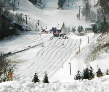 Hawksnest Snow Tubing Park