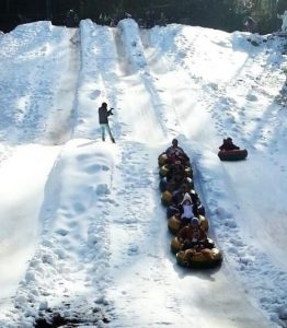 Moonshine Mountain Snow Tubing Park