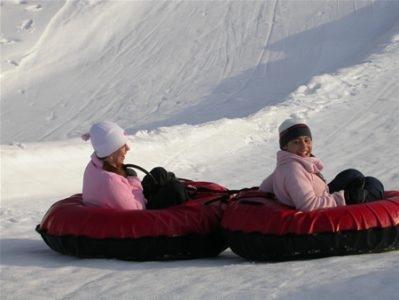 Ski Sawmill Tube Slide