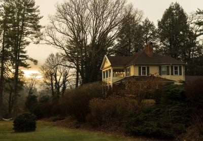 Yellow House Inn on Plott Creek Road