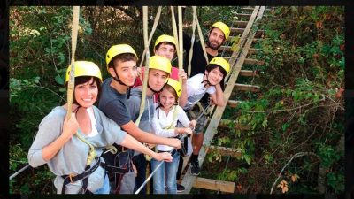 Blue Ridge Mountain Canopy Adventure