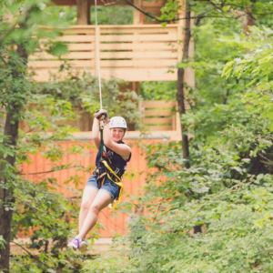 Tree Top Zip Tour at Salamander Resort