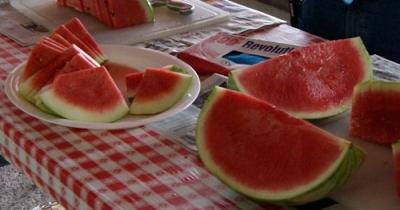 Free Watermelon at WNC Farmers Market