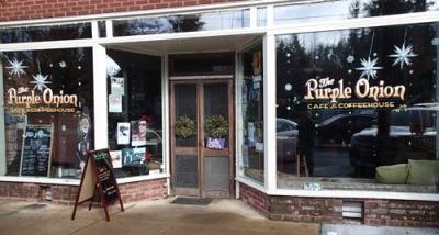The Purple Onion Restaurant in Saluda, NC