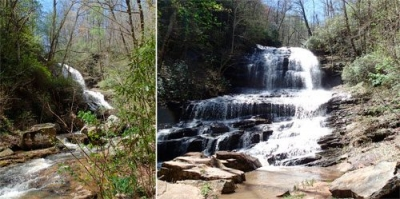 Spring Visit to Pearson's Falls in Saluda, NC