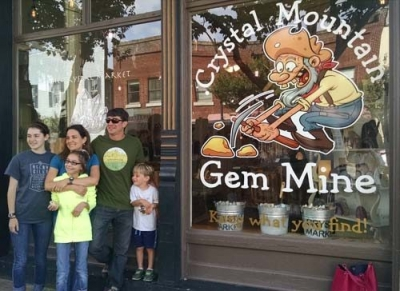Gem Mine is Great Kids Activity in Brevard, NC