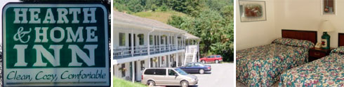 Maggie Valley NC Hearth and Home Inn Motel