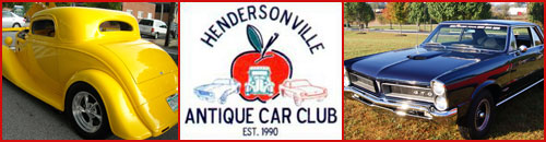 Hendersonville NC Antique Car Club