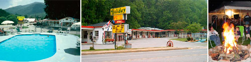 A Holiday Motel, Maggie Valley, NC