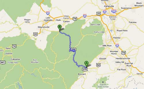 Best Mountain Roads Blue Ridge Travel Guide - Map of eastern us highways