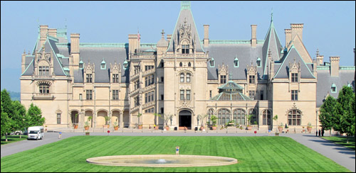 Pictures Of The Biltmore House In Asheville North Carolina Blue