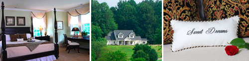 Bed and Breakfast On Tiffany Hill, Mills River, North Carolina
