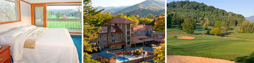 The Waynesville Inn Golf Resort and Spa, Waynesville, NC