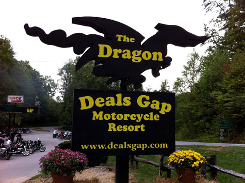 Rode Turns In Miles On Tail Of The Dragon With My Son - Us 129 the dragon map