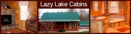 Lazy Lake Cabins, Hendersonville, NC