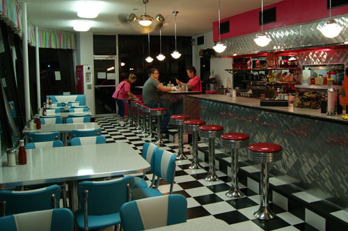 1950s Style Pop S Diner On Main Street In Hendersonville