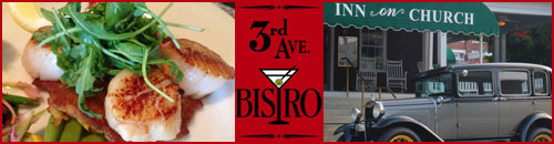 3rd Ave. Bistro at the Inn On Church, Hendersonville, NC