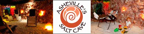 Asheville's Salt Cave, Asheville, North Carolina