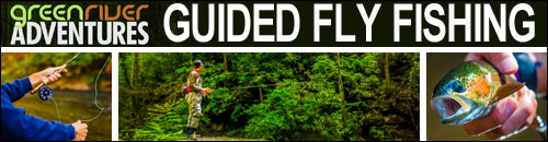 Green River Adventures Guided Fly Fishing