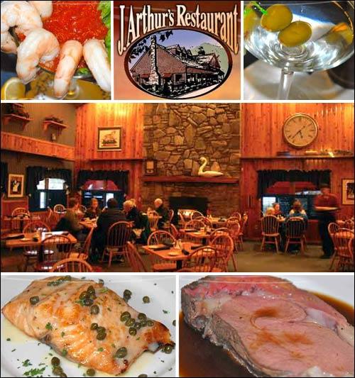 J. Arthur's Restaurant, Maggie Valley, NC