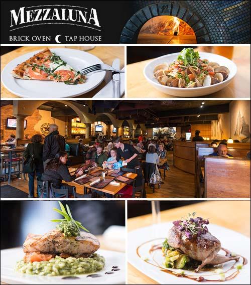 Mezzaluna Brick Oven Pizza Restaurant, Hendersonville, NC