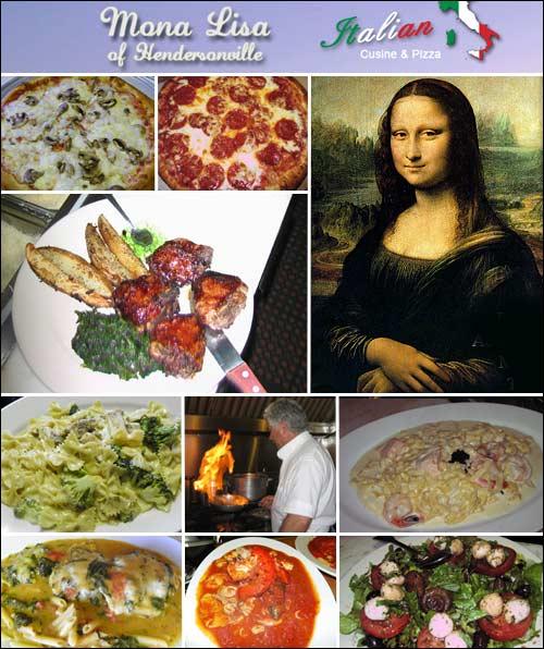 Mona Lisa Italian Restaurant of Hendersonville, NC