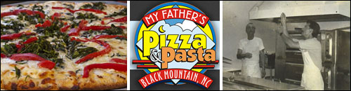 My Father's Pizza and Pasta, Black Mountain, NC