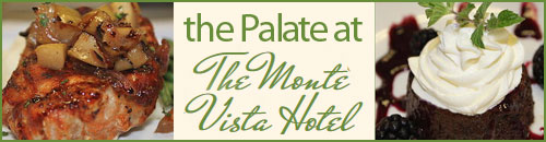 Palate Restaurant at the Monte Vista Hotel, Black Mountain, NC