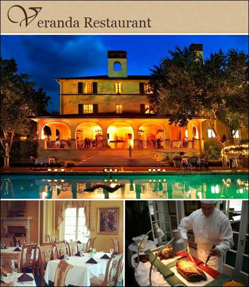 Veranda Restaurant at the Lake Lure Inn