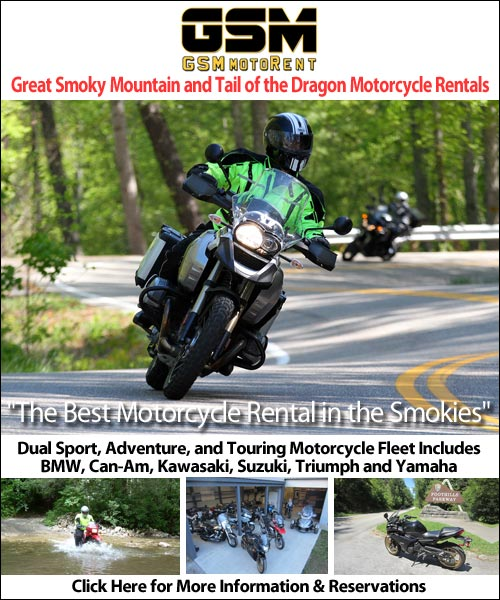 GSMmotorents Smoky Mountain Motorcycle Rentals