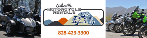 Asheville Motorcycle Rentals