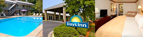 Days Inn at the Asheville Mall in Asheville, North Carolina