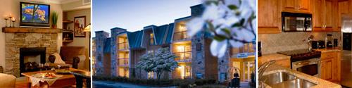 Residences at Biltmore Hotel in Biltmore Village, Asheville, North Carolina