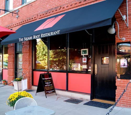 New Square Root Restaurant Main Street Hendersonville Nc