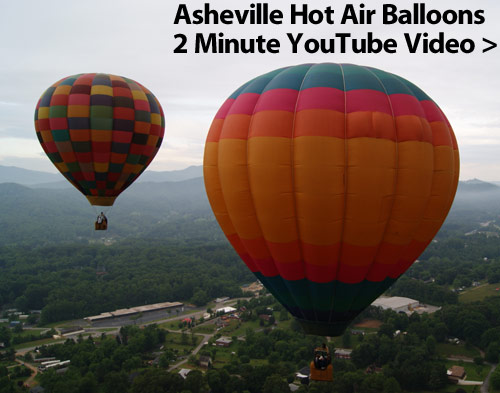 Asheville Hot Air Balloons YouTube Video