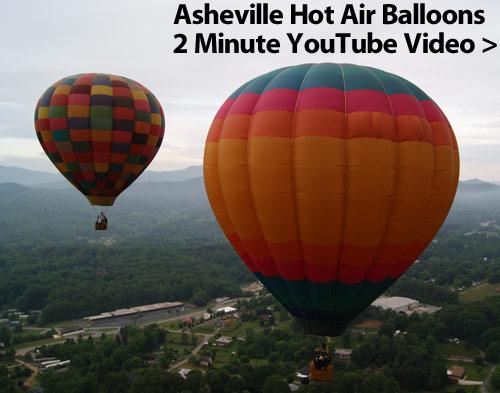Asheville Hot Air Balloons YouTube Video