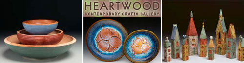 Heartwood Contemporary Crafts Saluda NC