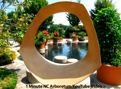NC Arboretum YouTube Video