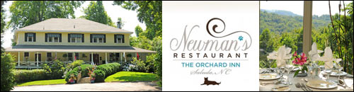 Newman's Restaurant at the Orchard Inn, Saluda, NC