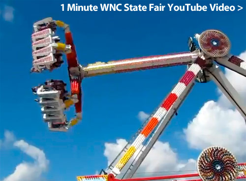 Asheville WNC State Fair YouTube Video