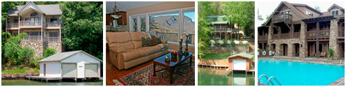 Vacation Rentals, Exclusive Mountain Properties in Lake Lure NC